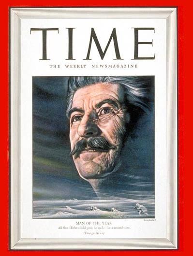 """Ο Στάλιν ανακηρύχθηκε το 1942, δηλαδή στη διάρκεια τού Β' Παγκοσμίου Πολέμου ως """"Ο Άνθρωπος τής Χρονιάς"""" από το περιοδικό """"Time"""", χαρακτηριστικό γεγονός τής ιδεολογικής υπεροχής τής κομουνιστικής ιδεολογίας - εκείνη την εποχή - στις ΗΠΑ και στον κόσμο. Την ίδια εποχή ο Ράιχ θεωρούσε την ΕΣΣΔ ως φορέα τού κόκκινου φασισμού. Ήταν δυνατό να τον αφήσουν να επιβιώσει;"""