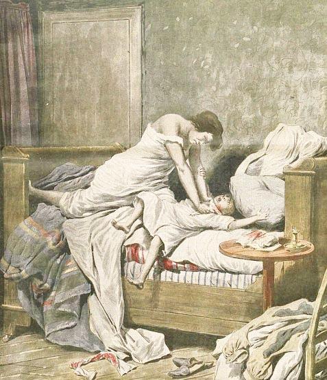 Γαλλίδα παιδοκτόνος τού 1825.