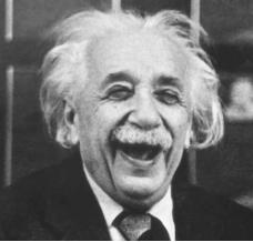 Ο Αλβέρτος Αϊνστάιν.